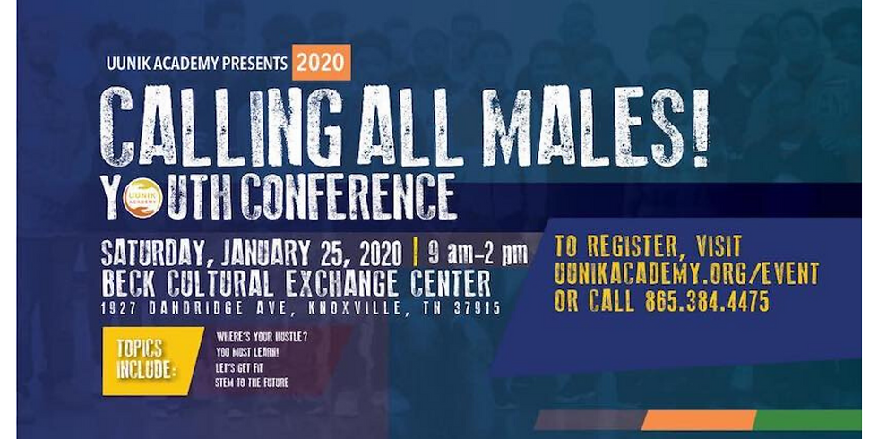 2020 Calling All Males Youth Conference