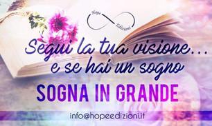 Hope Edizioni will be publishing Serenity's Plain Secrets & the Wings of War in Italian!