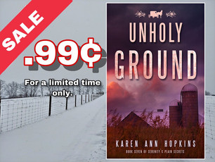 Get Unholy Ground for .99 in January!