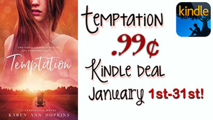 Temptation is a .99 Kindle deal in January!
