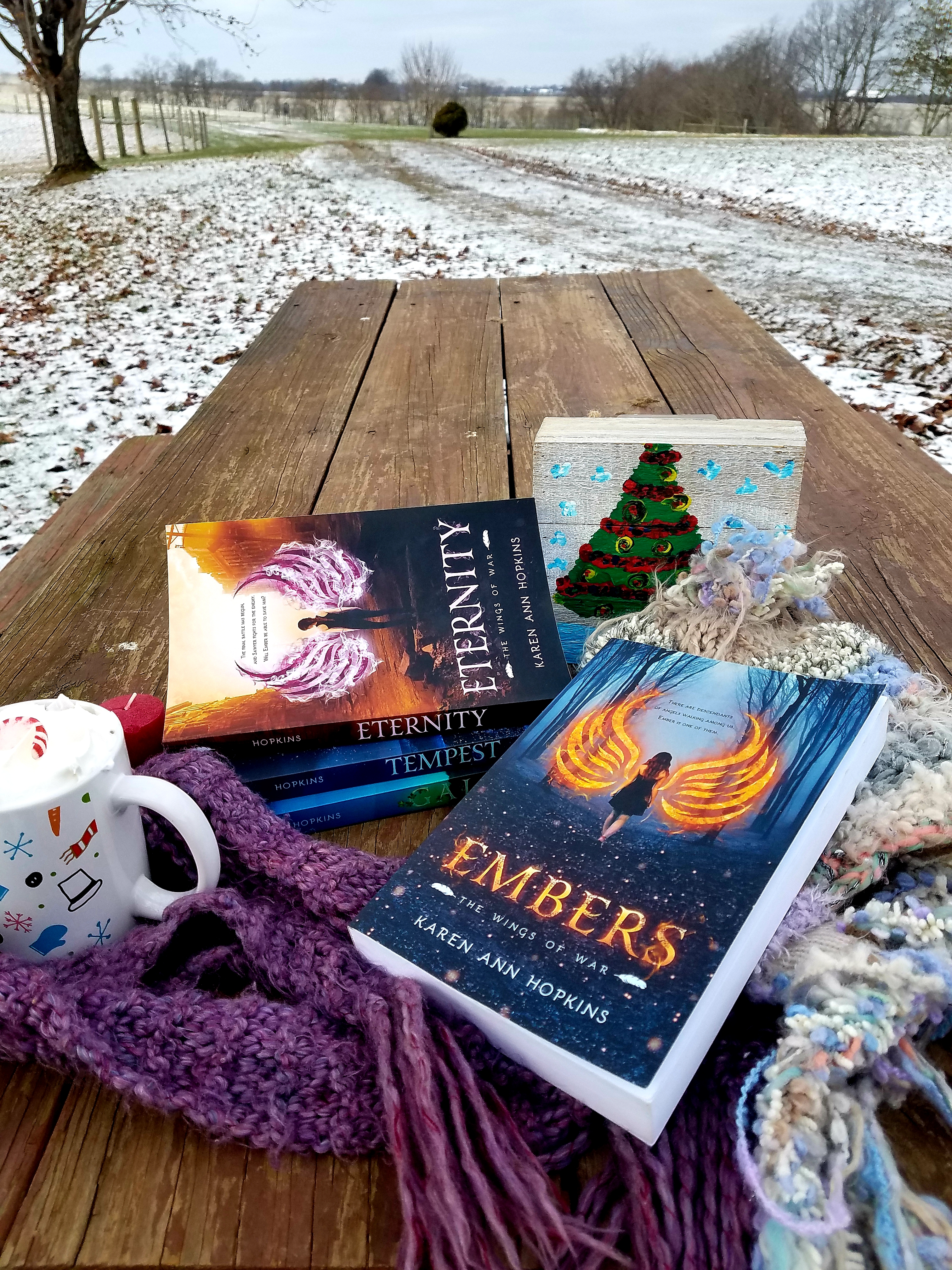 Holiday books Embers