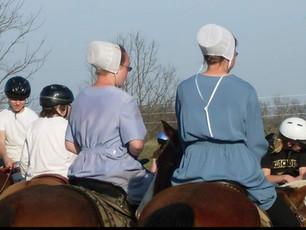 Amish teens...