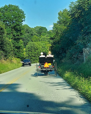 Life in Amish country!