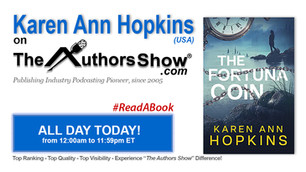 Here's my interview with The Author Show!