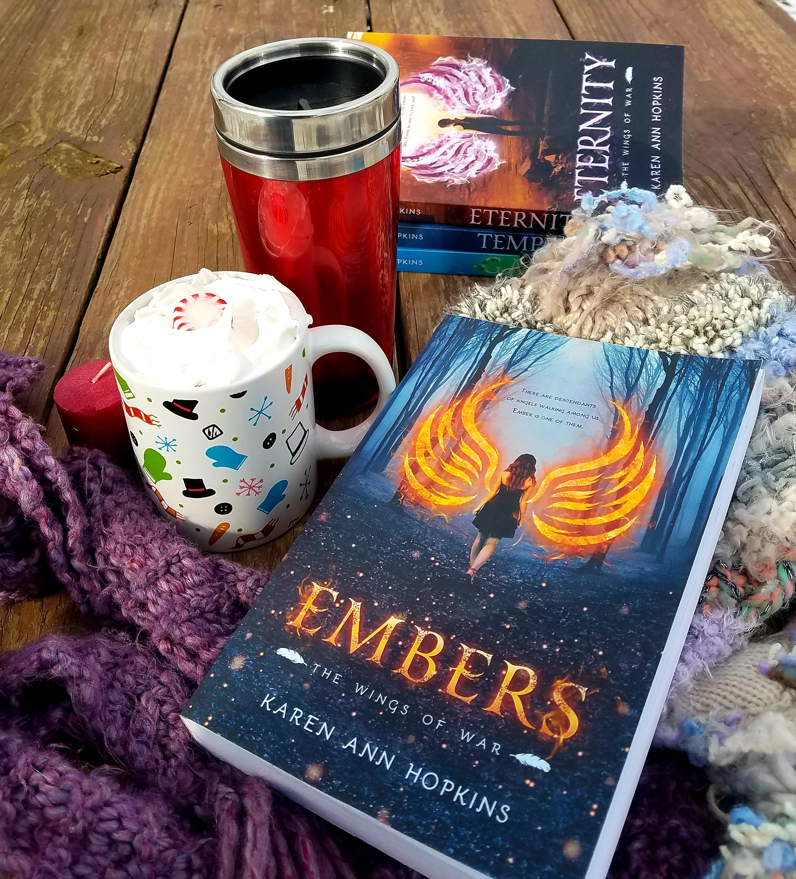 Holiday books Embers 4