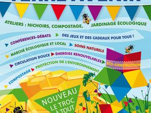 Nous vous invitions à nous rejoindre au festival Terre Avenir