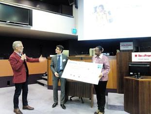 1er prix du développement durable du microcrédit Adie 2014 pour Nature d'Afrik