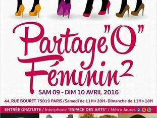 """Partage """"O"""" Féminin 2"""