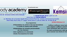 Ecole de coiffure afro/métissé Body Academy Paris