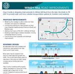 Hoja informativa de Windy Hill Road
