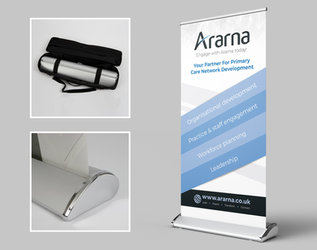 Premium banner stands at Proteus Print