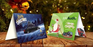 Bespoke Christmas Cards Designed