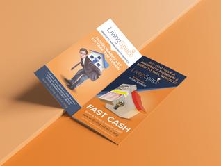 Tri-fold Leaflets - Great graphic designgets you noticed