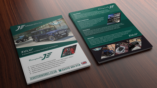 Flyers Designed & Printed