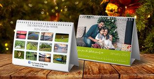 Personalised Desk & Wall Calendars
