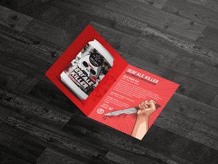 Folded Leaflets Designed & Printed
