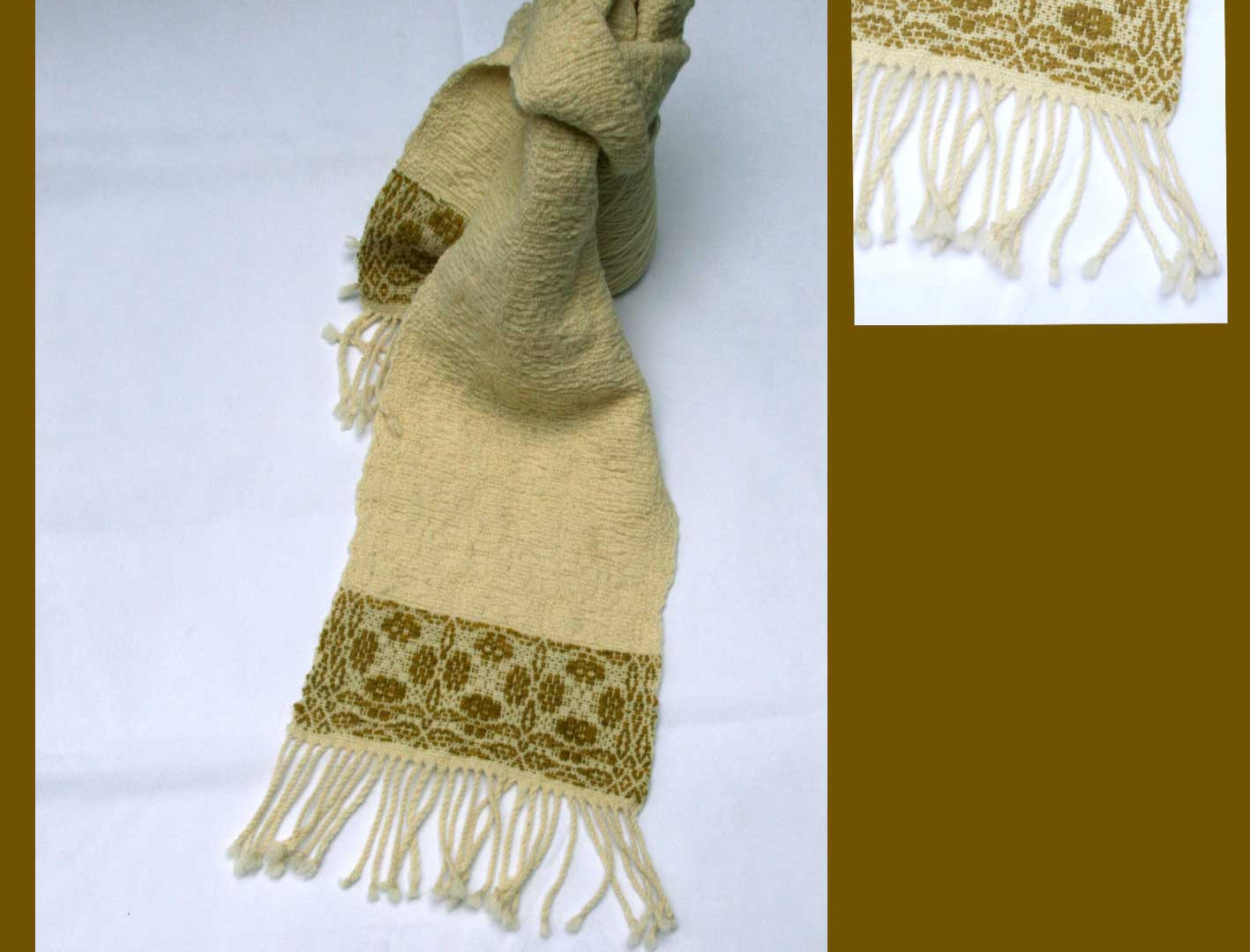 Echarpe laines bretonnes