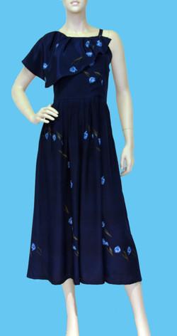 robe de soie pour une allure hippie