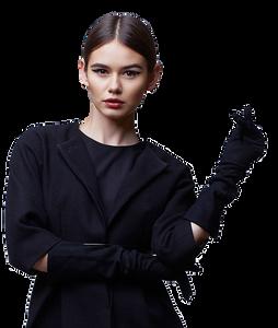 inspiré du  Power  Dressing, une mode qui permet  à la femme d'exprimer sa personnalité en intégrant les impératifs de sa vie professionnelle