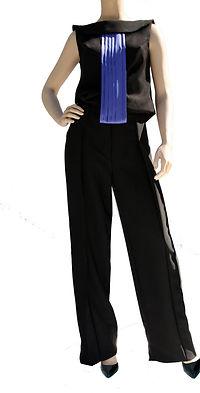 Zen , pantalon large inspiration japonaise