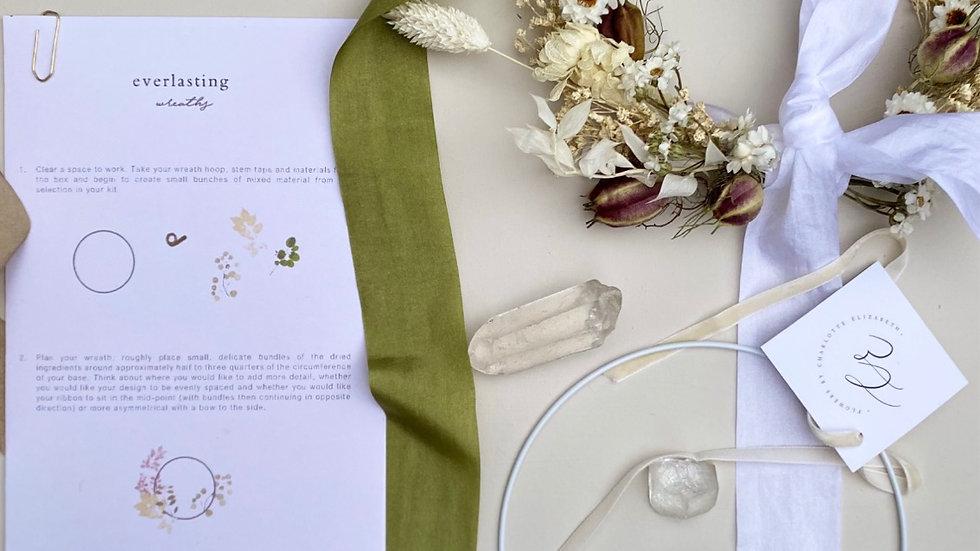 Dried Everlasting Wreath Kit