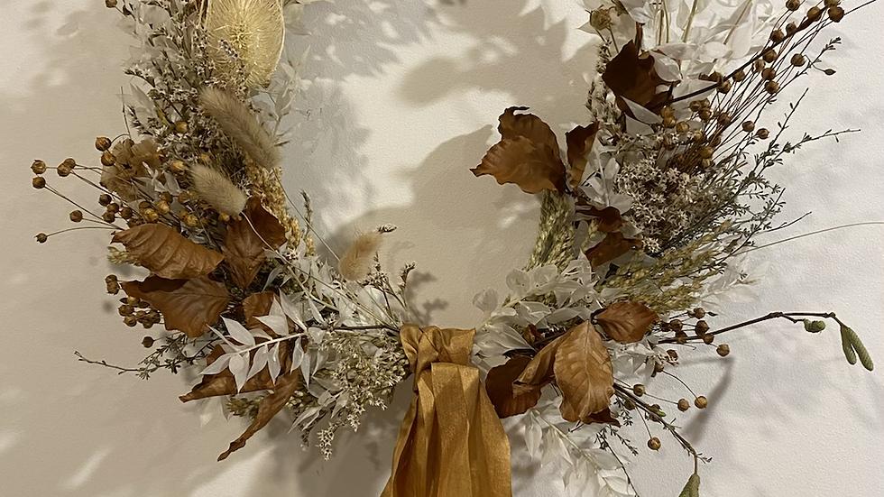 Custom Dried Wreath
