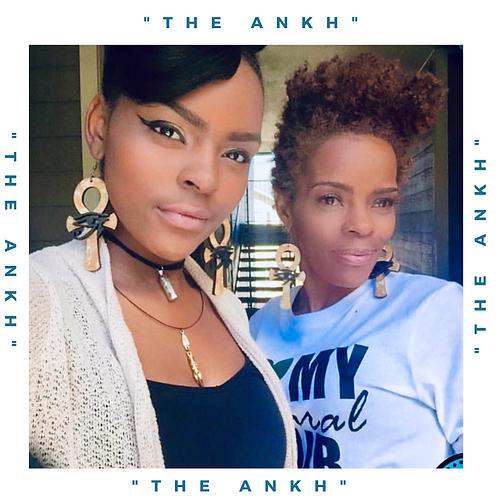 """Wordz Flow™ Earrings - """"The Ankh"""""""