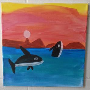 Orcas by Ashli Gower