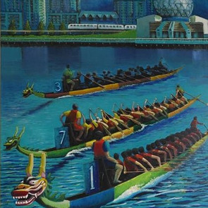 Dragonboats by Jose Suganob