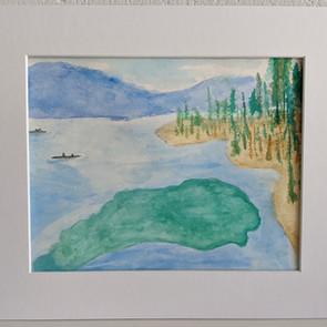 Peaceful Kayak by Chris Billinger