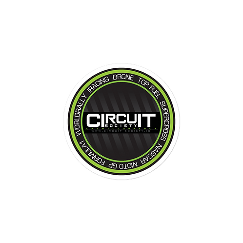 Circuit-society sticker