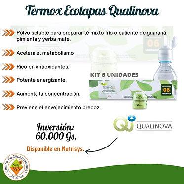 Termox Ecotapas Qualinova. Kit de 6 unidades