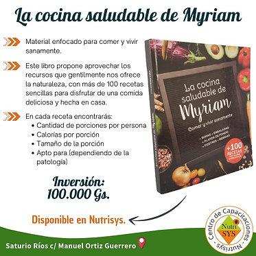 La cocina saludable de Myriam