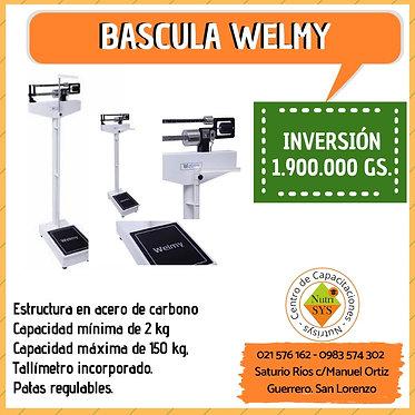Bascula Welmy