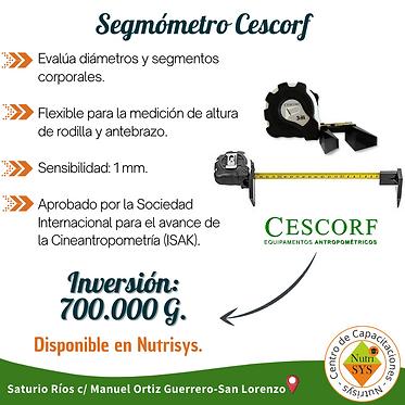Segmómetro Cescorf