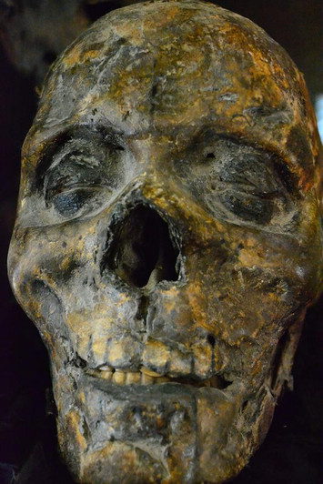 Day of the Dead Mummified Sculpture
