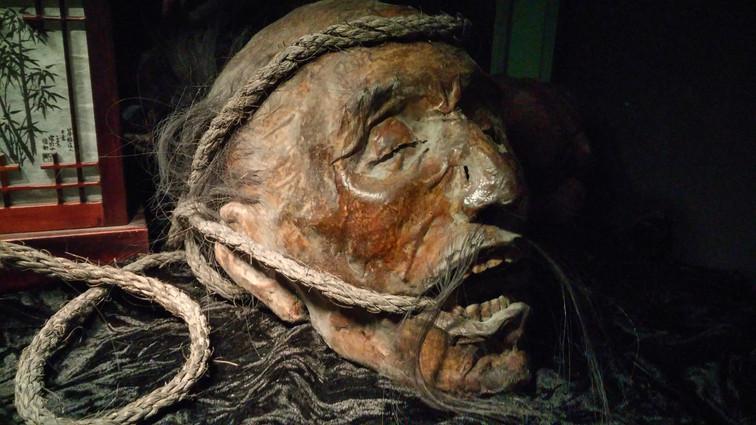 Samurai Mummified Sculpture