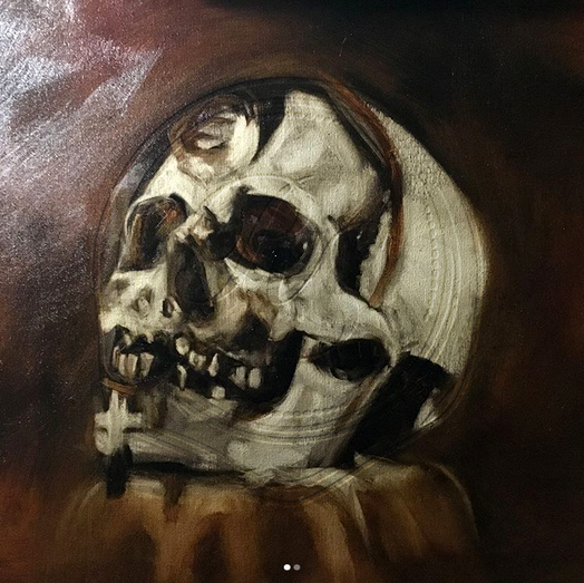 Oil Painting by Ash Robles