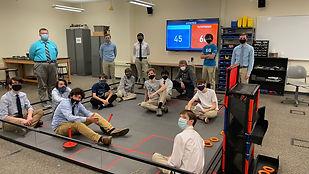 La Salle Robotics_Freshmen in FTC Lab.JP