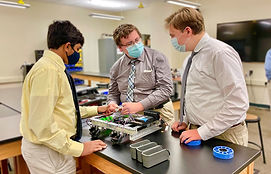 La Salle Robotics_FTC Guys Working at Ta