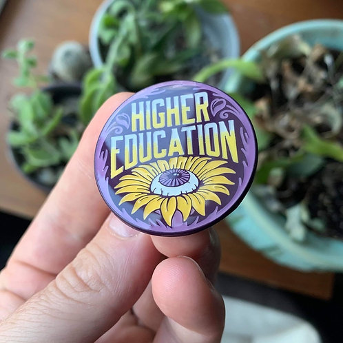 Higher Education Pin