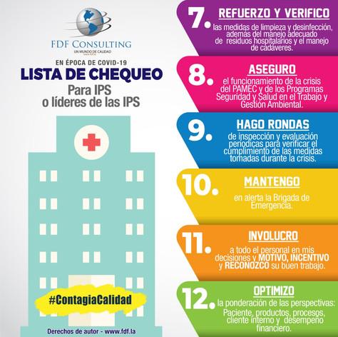 Lista de chequeo IPS o  Líderes de la IPS