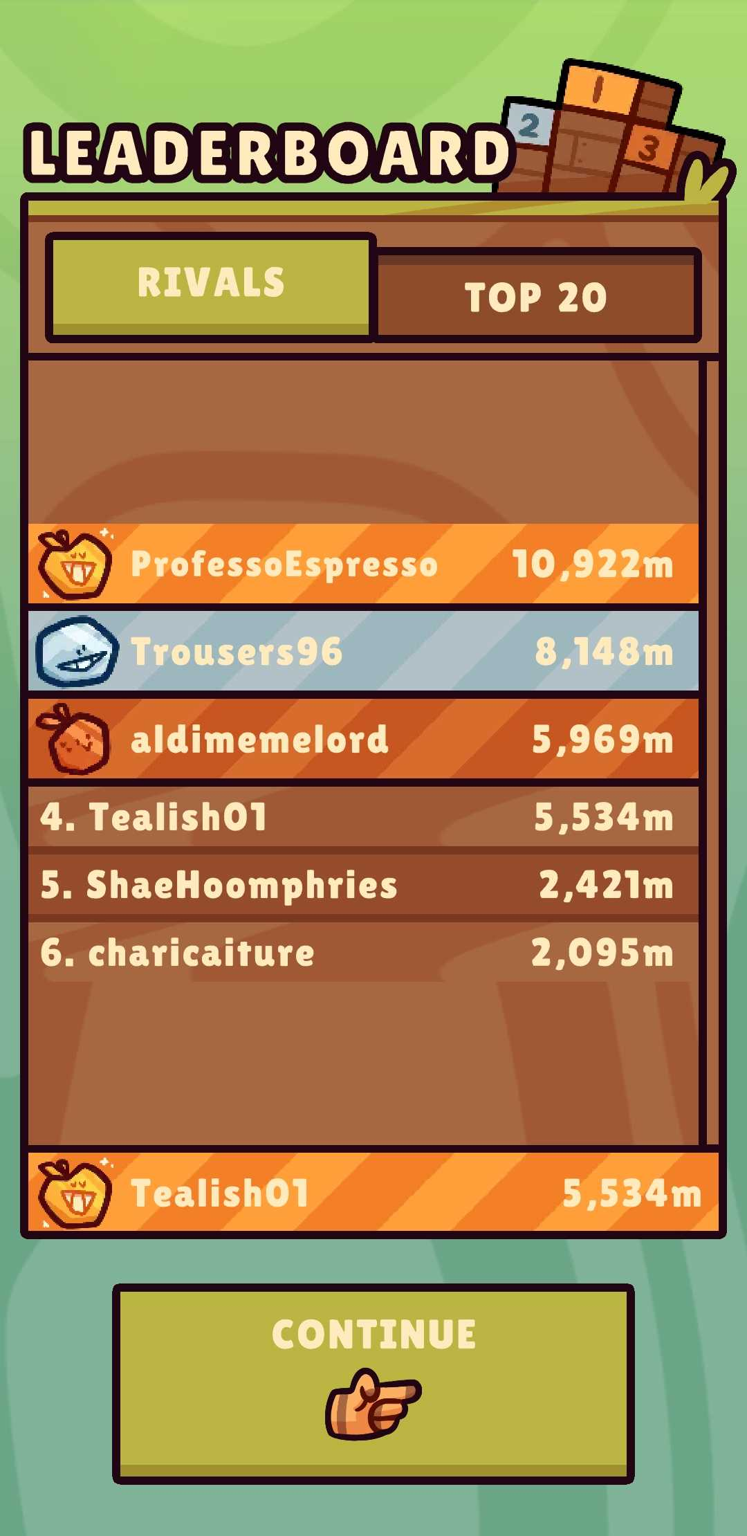 Leaderboards Complete