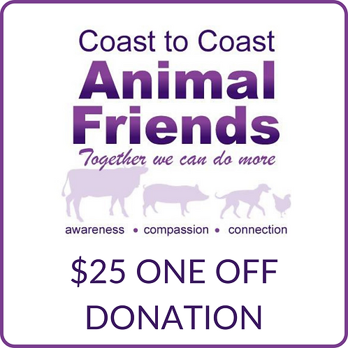 C2CAF $25 Donation