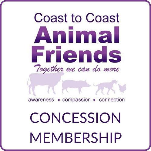 C2CAF Concession Membership - New & Renewal