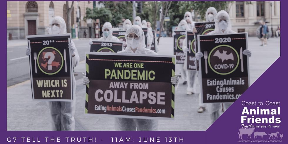 International Pandemic Outreach: G7 Summit Edition