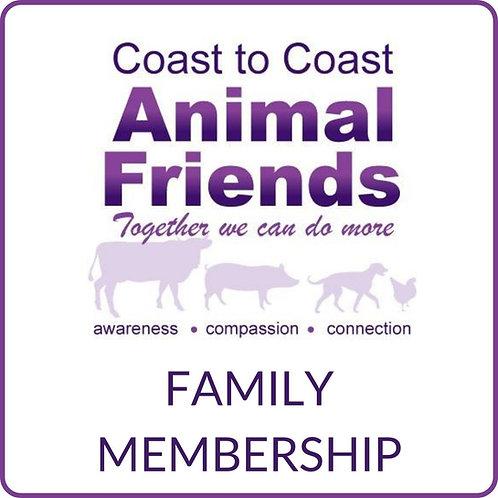 C2CAF Family Membership - New & Renewal
