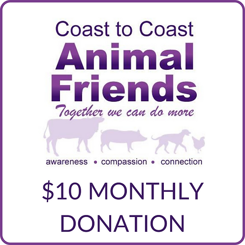 C2CAF $10 Monthly Donation