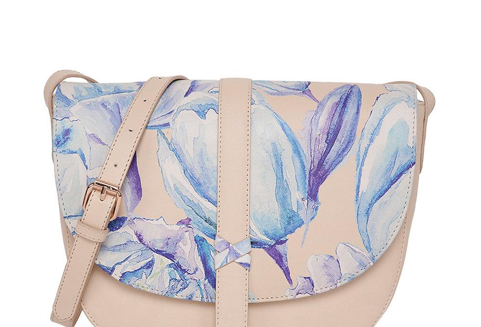 Water Color saddle bag