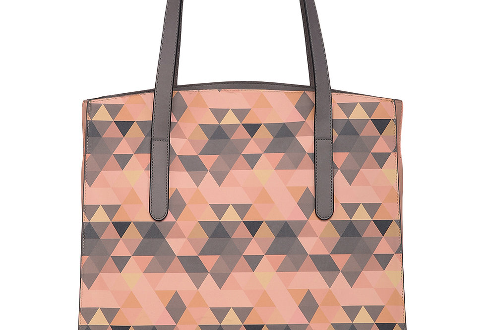 Colorful Graphic Shopper bag